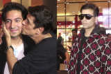 SPOTTEDKaran Johar, Sudesh Berry and son at Airport