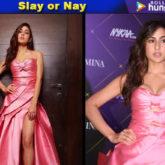 Sara Ali Khan in Monisha Jaising for Nykaa-Femina Beauty Awards 2019 (Featured)