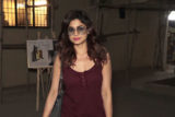 Shamita Shetty Spotted at Kromkay Salon, Juhu
