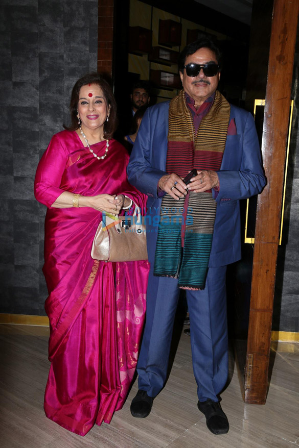 Shatrughan Sinha and Poonam Sinha launch 'A Touch of Evil' by author Dhruv Somani (1)