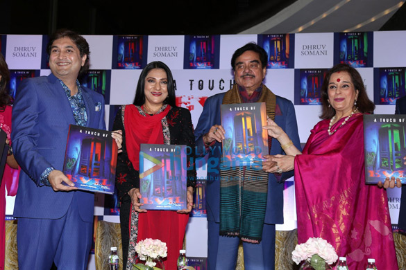 Shatrughan Sinha and Poonam Sinha launch 'A Touch of Evil' by author Dhruv Somani (5)