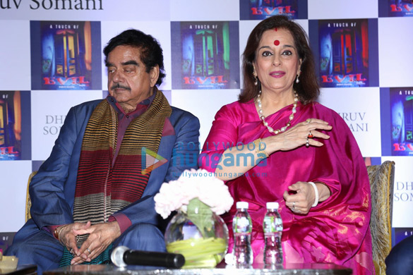 Shatrughan Sinha and Poonam Sinha launch 'A Touch of Evil' by author Dhruv Somani (6)