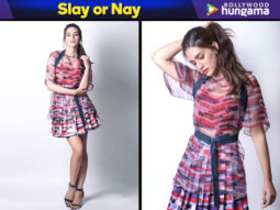 Slay or Nay - Kriti Sanon in Kanika Goyal for Luka Chuppi promotions (Featured)