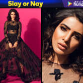 Slay or Nay Samantha Ruth Prabhu in Sunaina Khera for a photoshoot (Featured)