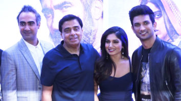 Son Chiraiya Movie Press Conference with Sushant Singh Rajput, Bhumi Pednekar, Ashutosh and others