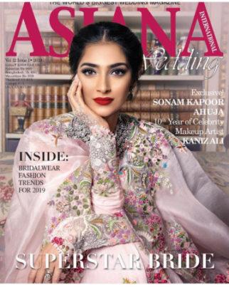 Sonam Kapoor Ahuja for Asiana Wedding International Magazine (Featured)