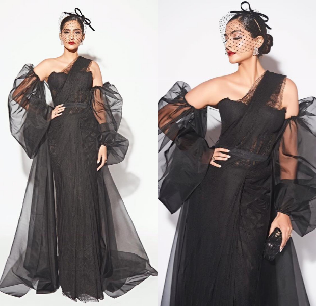 Sonam Kapoor Ahuja in Shehlaa Khan for Filmfare Glamour and Style Awards 2019