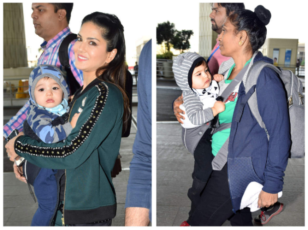 These pictures of Sunny Leone with her twins are all you need to see on a Friday morning!