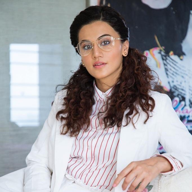 Taapsee Pannu in Urth Label for Badla promotions (4)
