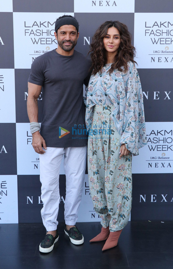 Tamannaah Bhatia, Farhan Akhtar and others snapped at Lakme Fashion Week Summer Resort 2019 – Day 3 (5)