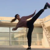 WATCH: Disha Patani learns 'slap spin tornado', gives her fans a glimpse of her intense workout routine