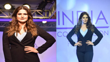 Zareen Khan set the RAMP as SHOWSTOPPER at Plus Size Fashion Show