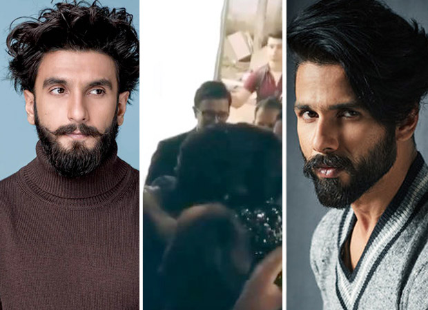 WATCH: Alauddin Khilji Ranveer Singh hugs it out with Rawal Ratan Singh Shahid Kapoor in this video and it is PERFECT!