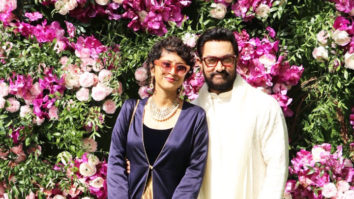 Aamir Khan and Kiran Rao's Entry at Akash Ambani and Shloka Mehta's Wedding Reception