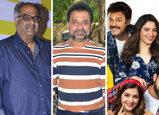 REVEALED: Boney Kapoor and Anees Bazmee come together for Venkatesh, Tamannaah Bhatia starrer F2 Fun and Frustation remake