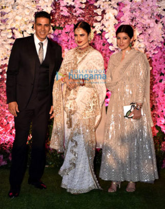 Celebs grace Akash Ambani and Shloka Mehta's wedding reception