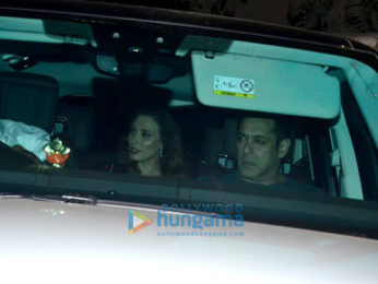 Celebs grace the party of Celebrity Cricket League at Sohail Khan's residence in Bandra