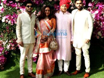 Celebs grace the wedding of Akash Ambani and Shloka Mehta