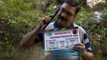 On The Sets Of The Movie Chappad Phaad Ke