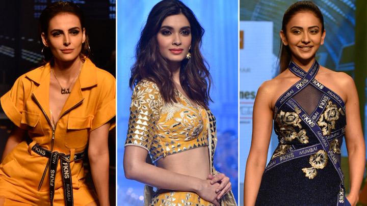 Diana Penty, Rakul Preet Singh & others at Bombay Times Fashion Week Day 2
