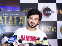 Divyendu Sharma, Gajraj Rao & others at Special Screening of Short Film 'Fatafat'