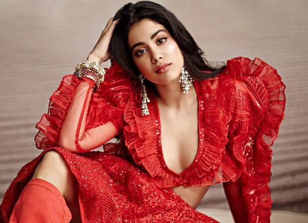 Janhvi Kapoor looks RAVISHING in red on the cover of Peacock magazine