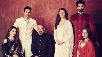 Kalank Alia Bhatt - Varun Dhawan, Madhuri Dixit - Sanjay Dutt, Sonakshi Sinha - Aditya Roy Kapur's co-ordinated elegance is the stuff couture dreams are made of