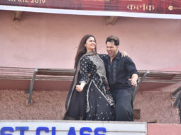 Kalank: Alia Bhatt and Varun Dhawan send the fans into frenzy with their undeniable chemistry at 'First Class' launch