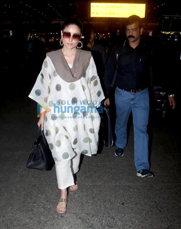 Kareena Kapoor Khan and Boney Kapoor snapped at the airport (4)