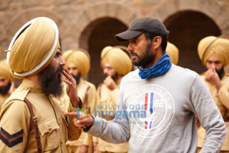 On The Sets from the movie Kesari