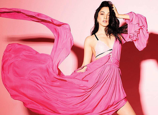 Kiara Advani looks like a vision in pink on the cover of FHM magazine