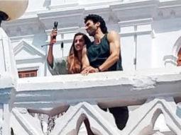 LEAKED! Aditya Roy Kapur and Disha Patani are all smiles on the sets of Malang in Goa