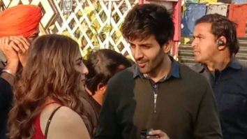 LEAKED PHOTOS & VIDEOS! Sara Ali Khan and Kartik Aaryan have eyes only for each other on Love Aaj Kal sets