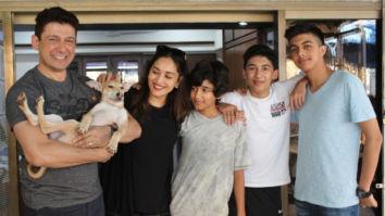 Madhuri Dixit adopts a dog from PETA on son Arin's birthday