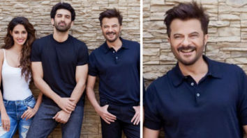 Anil Kapoor has been one of the fittest actors in Bollywood. While the star is aging like a fine wine, he has definitely set the bar high for the young stars who look upto him. He turned 62 this year but is one of the fittest actors who still gives a run for money to young actors when it comes to his sharp looks. Just yesterday morning, Anil Kapoor announced starring in Malang along with Aditya Roy Kapur and Disha Patani. It will be produced by T-Series and Luv Films and directed by Mohit Suri. While the announcement got the fans really excited, it's his look that has gone viral. Anil Kapoor is seen striking a pose with his co-stars and director in the pictures. And the star with his wide smile and dashing looks definitely outshined the younger ones in the frame. He is slaying in his 60s and the netizens are absolutely here for it. The photos have gone viral on the Internet as the netizens can't stop drooling over Anil Kapoor and his sharp looks.