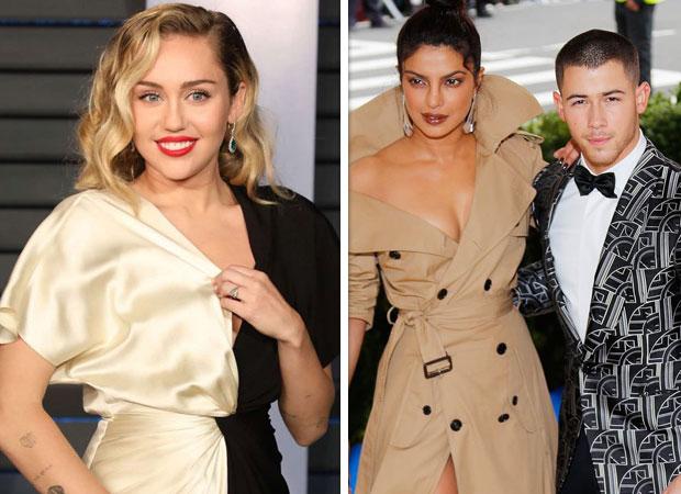 Nick Jonas compliments ex-girlfriend Miley Cyrus, Priyanka Chopra agrees with her hubby