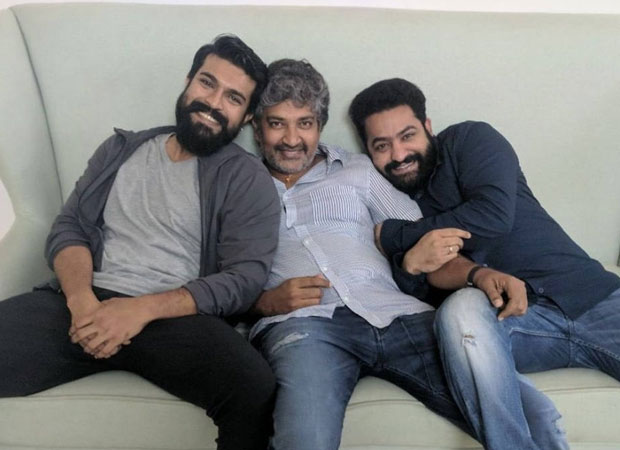 """""""RRR is a large scale movie just like Bahubali,"""" says SS Rajamouli about Ram Charan and Junior NTR starrer"""