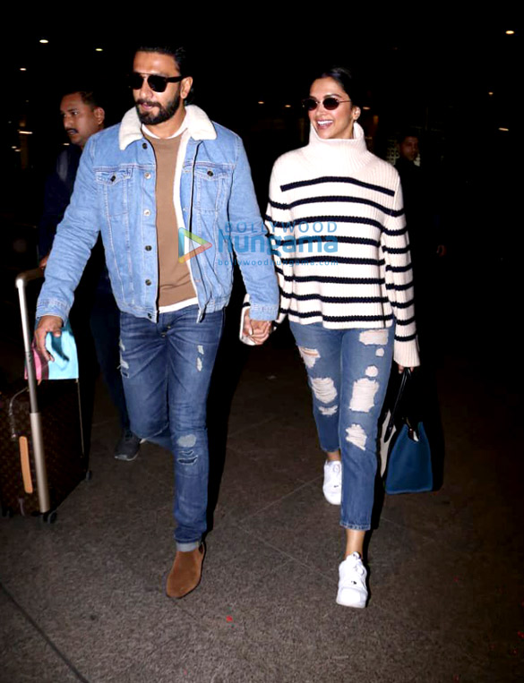 Ranveer Singh, Deepika Padukone, Anushka Sharma and others snapped at the airport