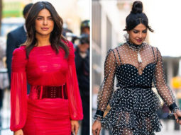 Red or black Choose your favorite look of Priyanka Chopra Jonas