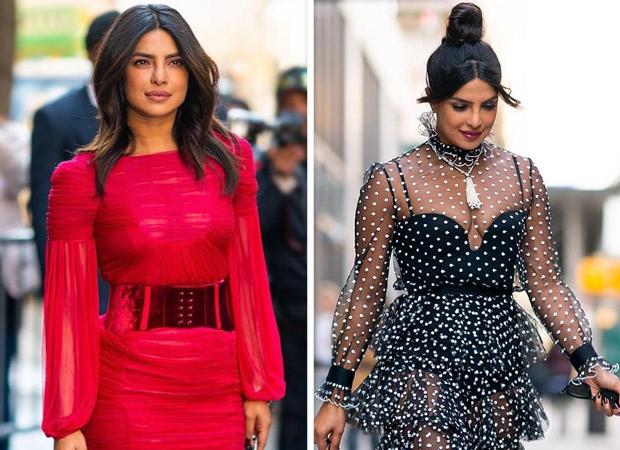 Red or black Choose your favorite look of Priyanka Chopra Jonas
