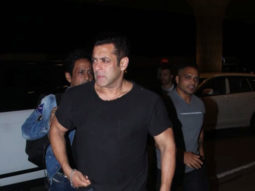 Salman Khan SPOTTED at Airport , Mumbai