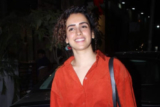 Sanya Malhotra SPOTTED at Kitchen Garden, Juhu
