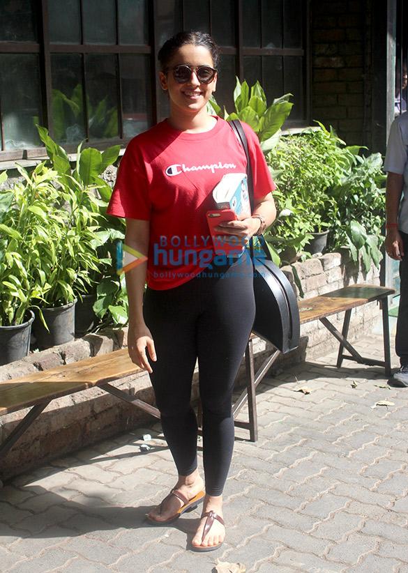 Sanya Malhotra spotted at Pali Village
