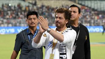 Shah Rukh Khan snapped at Eden Gardens during Kolkata Knight Riders match at IPL 2019