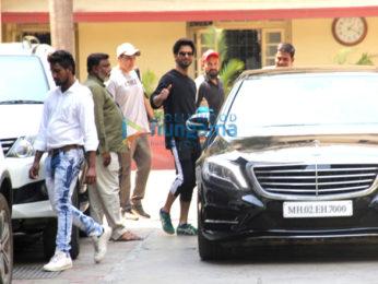 Shahid Kapoor and Sooraj Pancholi spotted at gym
