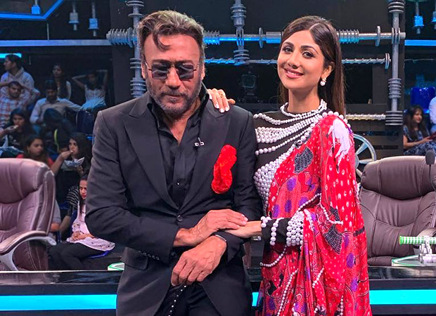 Shilpa Shetty and Jackie Shroff pose for a picture and it is sheer nostalgia for us!