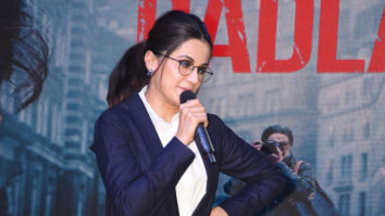 Taapsee Pannu Spotted at Mithibai College for Promotion of Badla