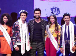 Vicky Kaushal attend National Finale of Inter College Talent Hunt