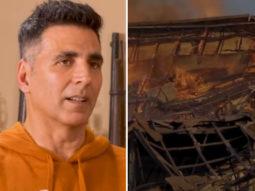 WATCH: Akshay Kumar REVEALS how Kesari set was burnt to ashes