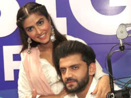 Zaheer Iqbal and Pranutan Bahl Promoting their Upcoming Film Notebook at Big FM